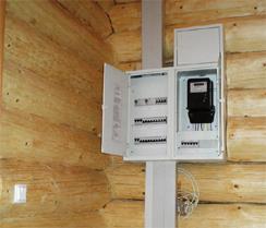 Электропроводка в деревянном доме – специфика монтажа