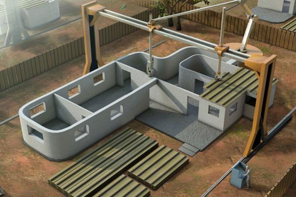 Уникальное строительство домов: теперь здания можно «печатать»