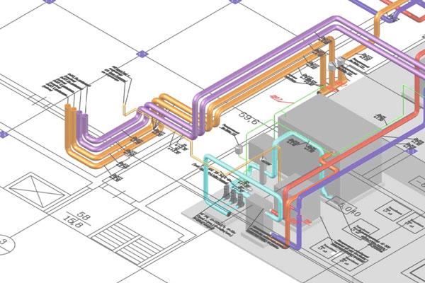 Полный комплекс услуг, связанных с проектированием инженерных систем
