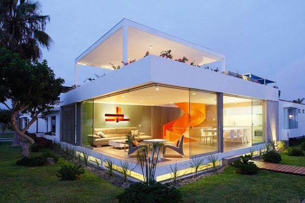 Про строительство «прозрачного» дома!